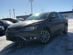 2015 Chrysler 200 C MODEL/NAV/LEATHER/BACKUP/MOONROOF