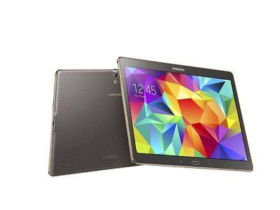 Samsung Galaxy Tab S SM-T800 16GB, Wi-Fi, 10.5in - Titanium Bronze