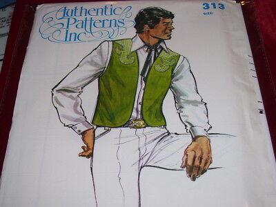 AUTHENTIC PATTERNS #313-MEN