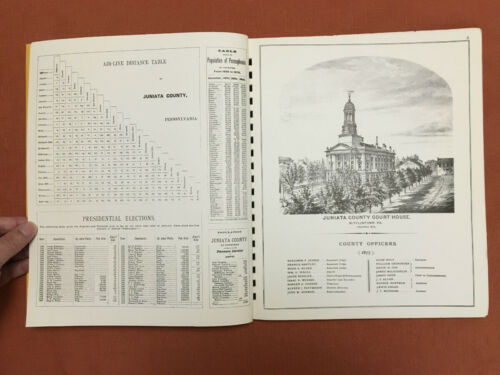 Illustrated Atlas Of Juniata County, Pennsylvania - 1877 - Reprint, C. 1974. - $59.99
