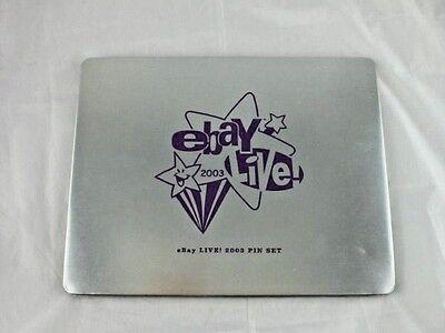 EBay Live 2003 Orlando Florida Pin Set of 13 Pins in Collectors Tin Box NEW