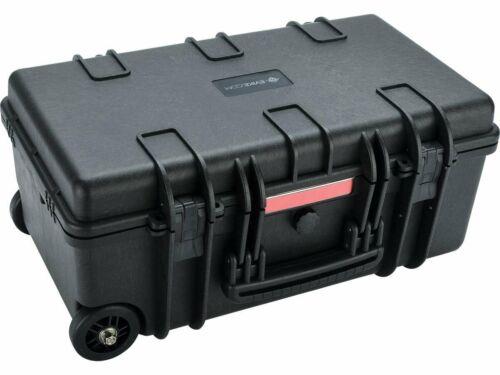 "Evike ""Carry On"" Equipment Rolling Case w/ Customizable Grid Foam Black NEW!"