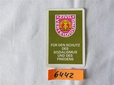 Taschenkalender Zivilverteidigung der DDR 1977 Kalender SELTEN !!!
