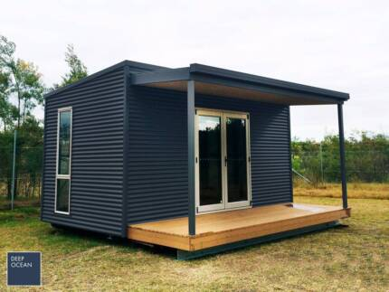 Brand New Colorbond Kit Shed 3x6m