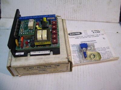 New Electrol C-mh-23-787b-cm W9000-0028 14-13hp 230vac Dc Motor Control P2302
