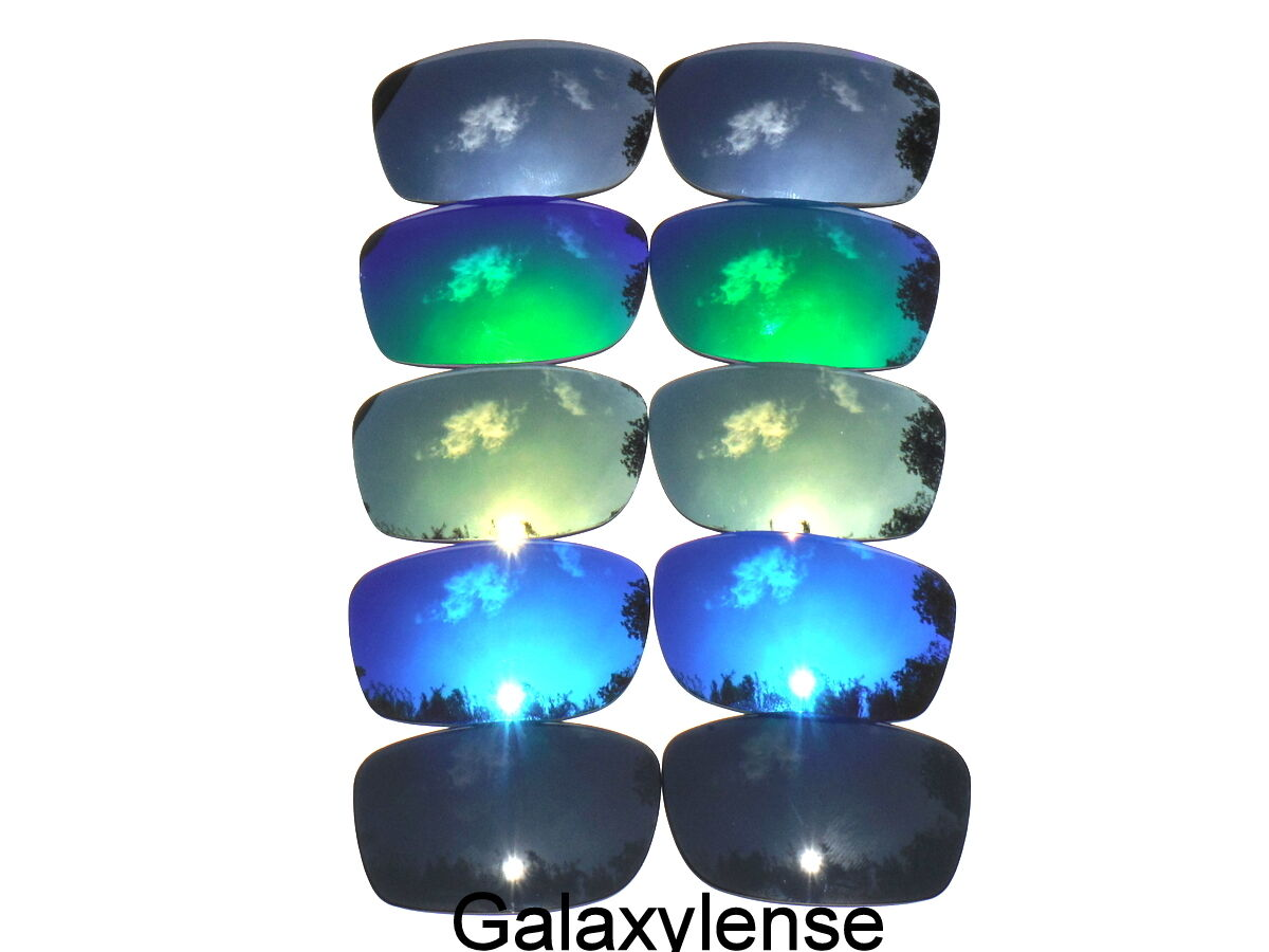 5bd1e194b2 Galaxy Replacement Lenses For Oakley Fives Squared  Black Blue Gold Green Titaniu.