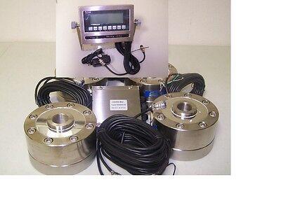 Tank Scale 400000x10lb4 Lpd-100k Compression Load Cellsntep Indicatorj Box