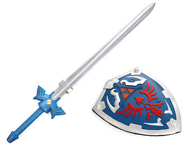 The Legend of Zelda Link Schwert & Schild Sword Shield PU-Schaum Cosplay Kostüm