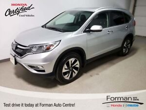 2015 Honda CR-V Touring - Certified | Just arrived