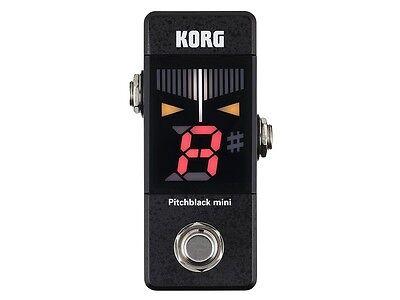 Korg Pitchblack Mini PB01-Mini Guitar Pedal Tuner! ()
