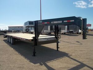 2017 Trailtech H370-24 Industrial Flatdeck Trailer