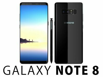 Samsung Galaxy Note 8 SM-N950U 64GB 4G LTE UNLOCKED SMARTPHONE ~OB~ EXCELLENT~
