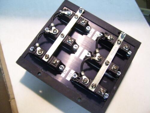 6 VISHAY VS-VSKDS 409/150 SCHOTTKY 3PH DIODE BRIDGE 150V 200A  W/ HEATSINK P3045