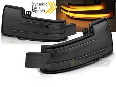Dynamischer LED Spiegelblinker Laufblinker Mercedes W463 W166 W251 smoke