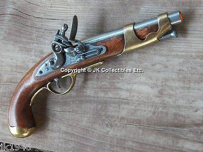 Replica 1801 Pirate Colonial Lewis & Clark Flintlock Napoleonic Cavalry Prop Gun
