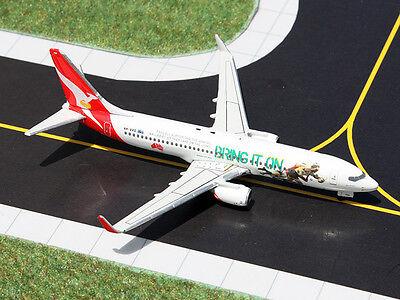 Gemini Jets Qantas Airways Boeing 737-800 GJQFA1301 1/400, REG# VH-VXG. New