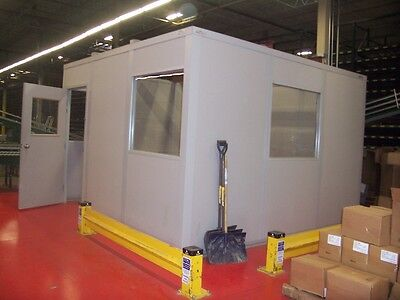 Modular Inplant Office System - 8 X 8 Or Built To Customer Spec