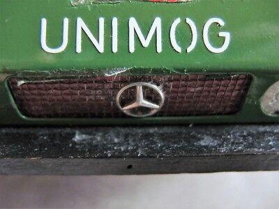 Unimog Aufkleber für z.B. Steiff Fahrzeuge