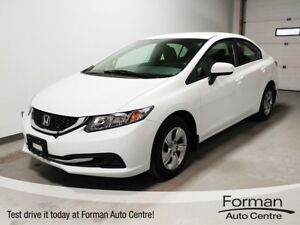2015 Honda Civic LX - Heated Seats | Backup Cam | Like new!