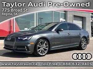 2017 Audi A4 2.0T Technik 1 OWNER, LOCAL TRADE, S LINE SPORT...