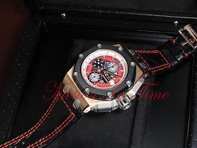 Audemars Piguet Barrichello III 257 Rose Gold Limited 257 26284RO.OO.D002CR.01