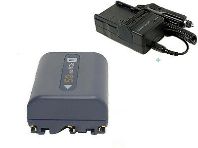 Battery + Charger for Sony Handycam CCD-TRV108 CCD-TRV118 CCD-TRV128 CCD-TRV138