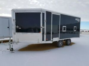 2017 High Country HES 101x16HB Enclosed Snowmobile Trailer