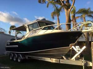 MARINELINE HARDTOP OCEAN MASTER 8M SUPER BEAMY SUPERIOR RIDE Wangara Wanneroo Area Preview