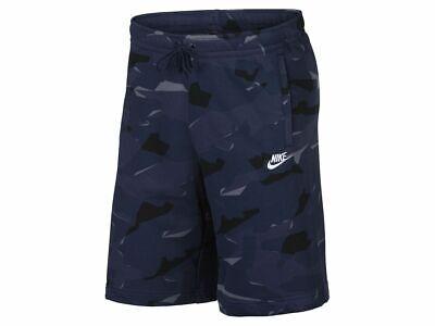 Club Shorts (Nike M Nsw Club Camo Short Ft Herren Shorts Sport Freizeithose  AR2917-410)