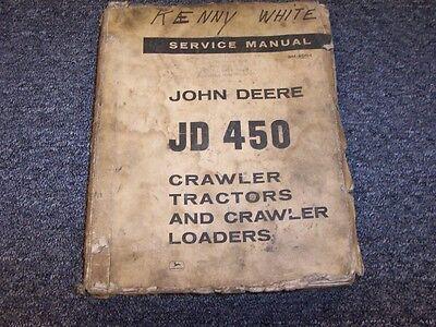 John Deere 450 Crawler Tractor Loader Shop Service Repair Manual Sm2064