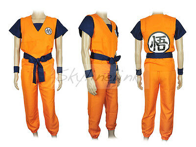 Dragonball Son Goku Kakarot Anime Cosplay Kostüm Costume - Dragon Ball Son Goku Kostüm