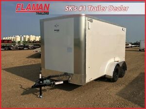 Southland 6' x 12' Enclosed Trailer - Ramp Door