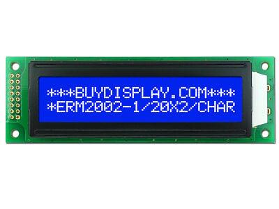 5v Blue 20x2 Character Lcd Module Display Wtutorialhd44780white Backlight