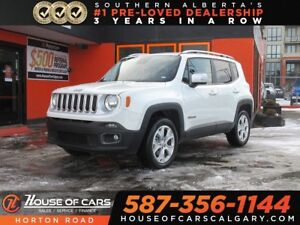 2017 Jeep Renegade Limited/ Leather/ Heated Seats/ 4x4