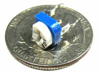 100k Ohm Single Turn Trimpot Phenolic Trimming Potentiometer Pack Of 20