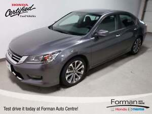 2015 Honda Accord Sport |Certified | Just arrived