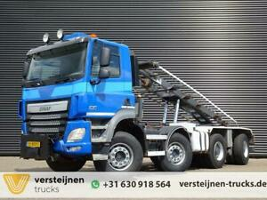 Ginaf 4243 / 8X4 / CONTAINER SYSTEM / EURO 6