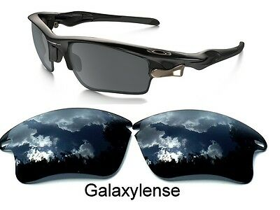 Galaxy Replacement Lenses For Oakley Fast Jacket XL Sunglasses Black Color , used for sale  Shipping to India