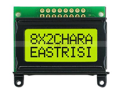 8x2 Character Lcd Module Display Wtutorialbezelhd44780 Controllerbacklight