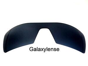 replacement lenses for oakley oil rigs btst  Galaxy Replacement Lenses For Oakley Oil Rig Sunglasses Black Polarized  100%UVAB