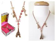 Betsey Johnson Paris Necklace