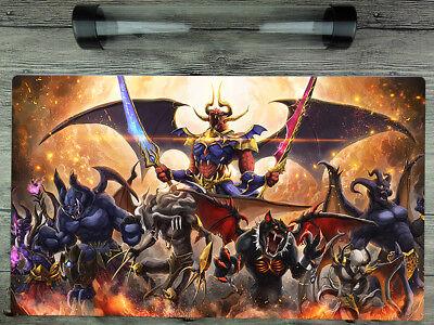YuGiOh Burning Abyss Cusom Playmat TCG Card Duel Battlefield Mat Free best