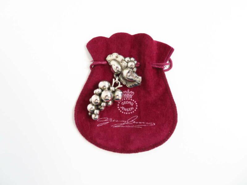 Georg Jensen Pin Brooch #217B Sterling Silver Denmark Jewelry #13666