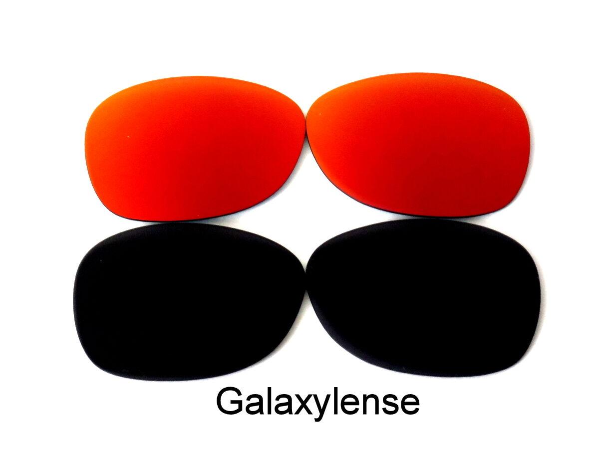 Verres de rechange Galaxy pour Ray Ban RB2132 New Wayfarer noir   rouge  52mm 2 paire 70e65c4f6a34