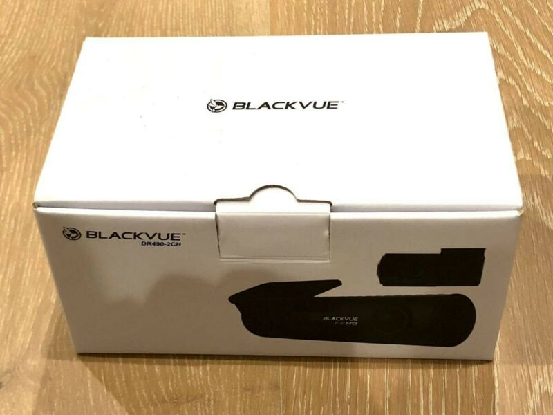 BlackVue DR490-2CH 2-Channel 1080p Dash Camera w/ GPS + 32GB MicroSD DashCam
