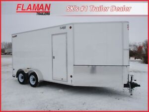 CJay 7'x18' Cargo Trailer - Heavy Duty Model!