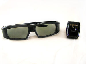 VIP 3D RF Glasses for Optoma HD25e HD25-LV BG-ZF2100GLS RF Emitter Included!