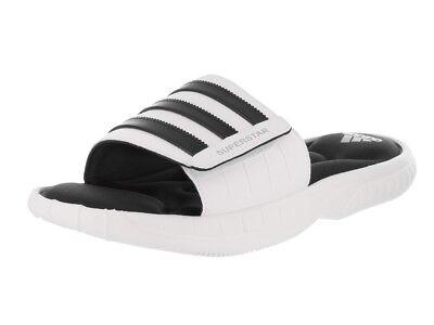 746de7644 adidas Performance Men s Superstar 3G Slides White Black (Size 12 ...