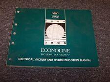 1998 Ford Econoline E150 E250 E350 Van Electrical Wiring ...