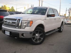 2010 FORD F-150 LARIAT | 4X4 • NAV/CAM • Leather •